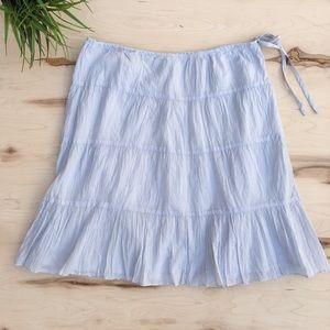 Talbots woman's flowy thin midi skirt